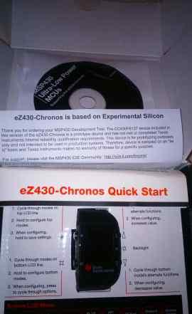 Набор разработчика Texas Instruments ez430 Cronos