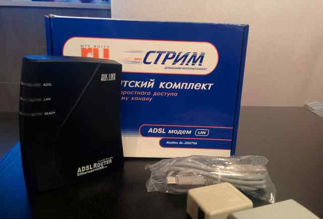 Adsl- модем AusLinx Router AL-2007V (Annex B)