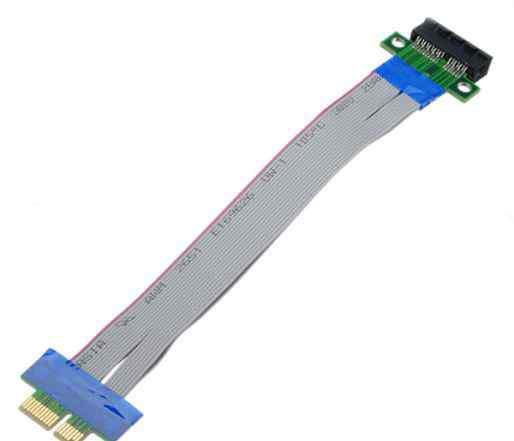 Райзер, PCI-E удлинитель, 1x - 1x