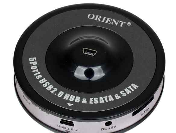 Orient USB2.0 Hub 5 port esata SATA
