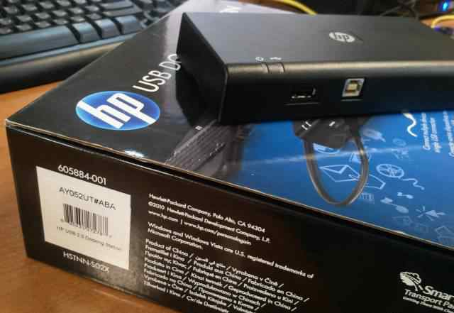 Док станция HP 2.0 USB Docking Station AY052
