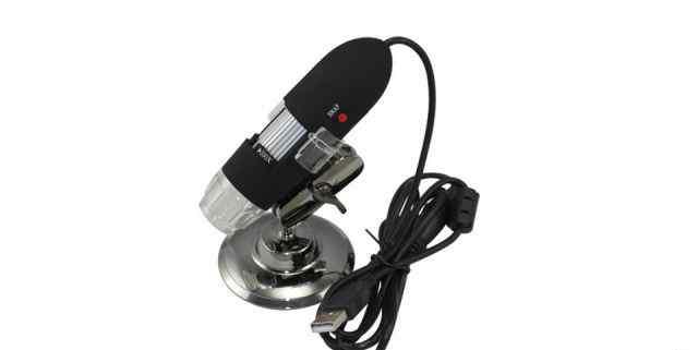 Микроскоп цифровой 50X - 500X USB с подсветкой