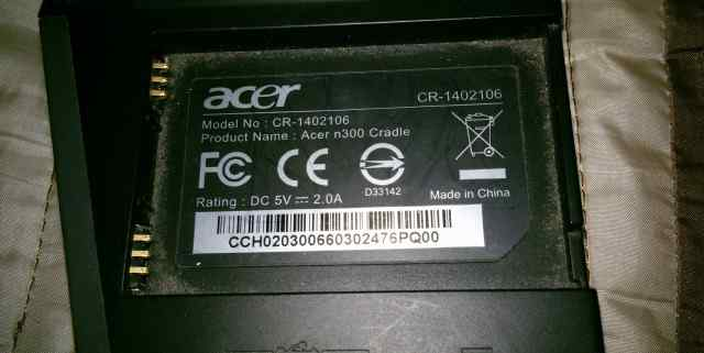 Коммуникатор Acer n300 комплект + кожаный чехол