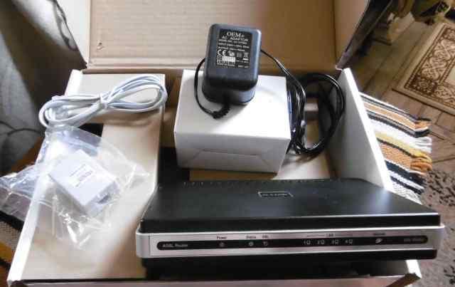 Роутер модем Adsl2+ D-Link DSL-2540U