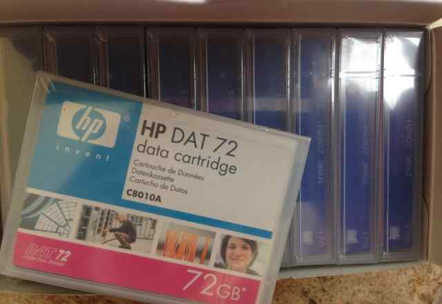 Data cartridge, HP DAT 72