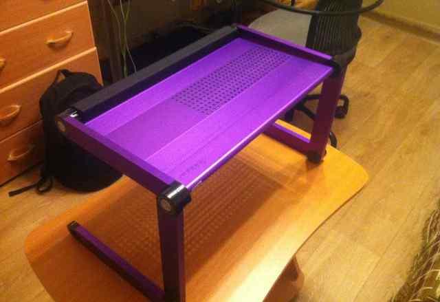 Подставка для ноутбука, фиолетового цвета