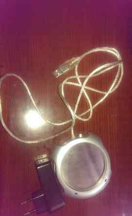 USB разветвитель (хаб) с подогревом для стакана