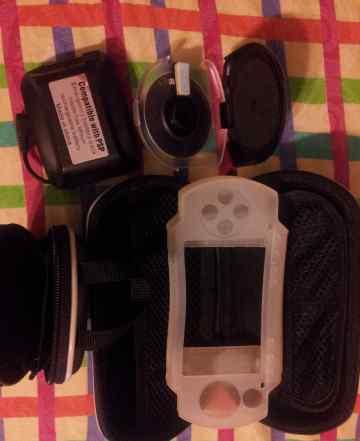 Футляр, чехол, зарядка для PSP