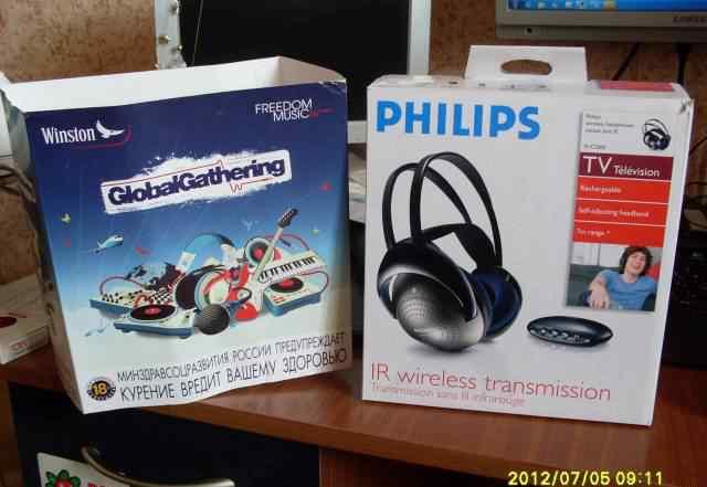 Беспроводные наушники Philips SHC2000
