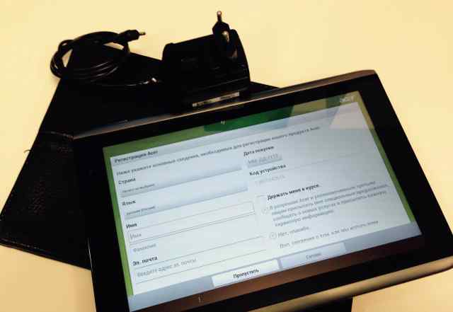 Планшет Acer A501 64 Gb