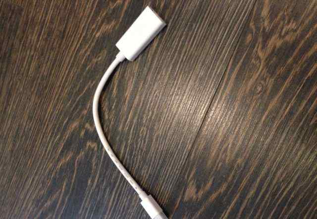 Mini DisplayPort / Thunderbolt to hdmi адаптер