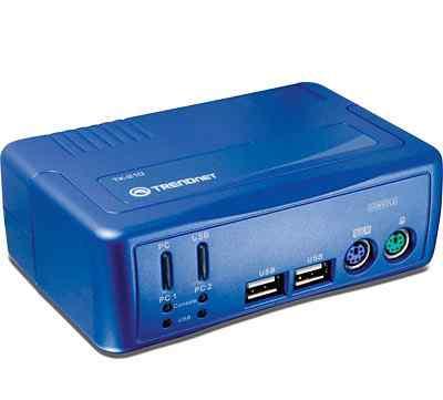 Переключатель Автомат. Trendnet 2 x 1 KVM-switch T