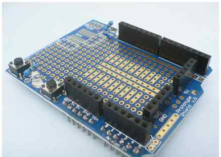 Prototyping shield for arduino