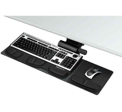 Подставка для клавиатуры профессиональная fellowes