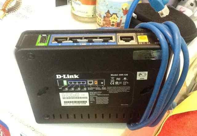 Проводной роутер Dlink DIR-120
