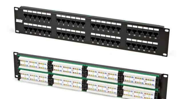 Патч-панели Hyperline PP2-19-48-8P8C-C5E-110D нов