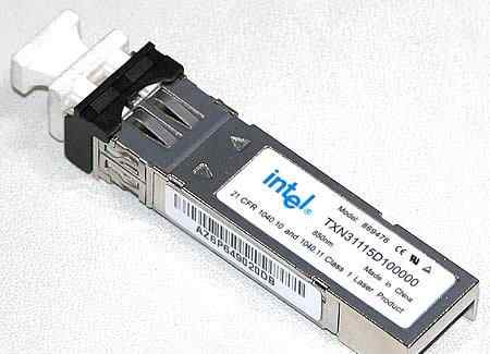 SFP Intel, Avago, Finisar FC 4/8Gb