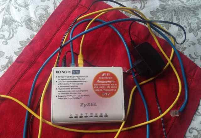 WiFi роутер zyxel Keenetic Lite