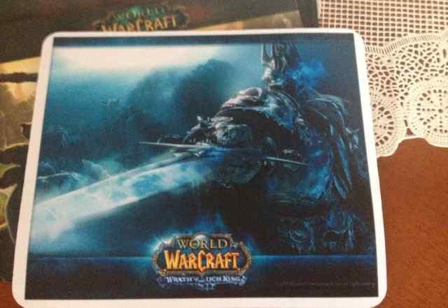 Коврик для мыши World of Warcraft Лич 3
