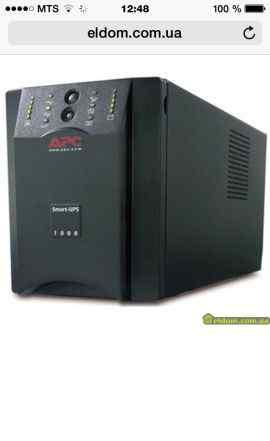 Источник бесперебойного питания Smart-UPS 1000