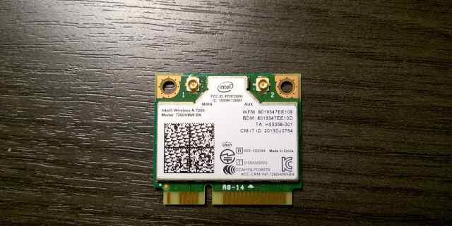Wi-fi Bluetooth adapter Intel 7260HMW BN