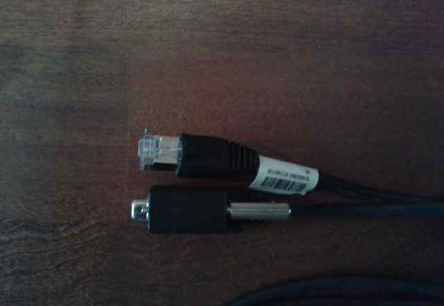 Консольный кабель RJ-45 на DB9