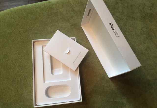 Коробка от iPad mini 1 16gb+ 3g(white)