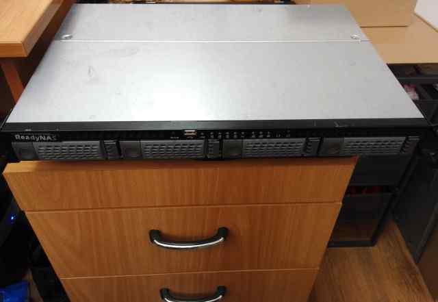 NAS сетевой накопитель NetGear readynas 1100