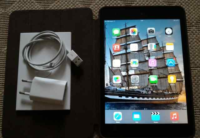 Планшет Apple iPad mini 64Gb Wi-Fi+ Cellular Black