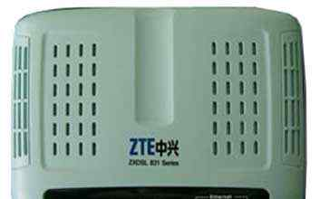 Модем ZTE zxdsl 831CII + adsl splitter