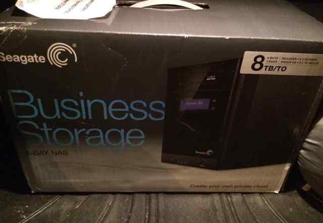 Новый Seagate Business 4-bay 8TB