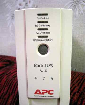 Источник бесперебойного питания APC Back-UPS CS475