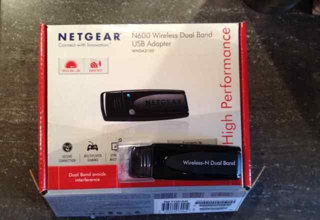 Адаптер WiFi netgear wnda3100-200PES