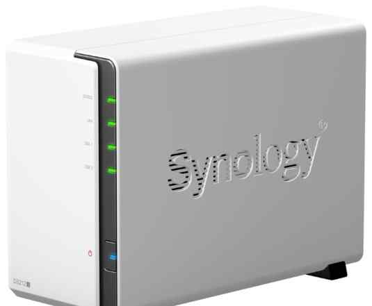 Cетевое хранилище synology DS212J