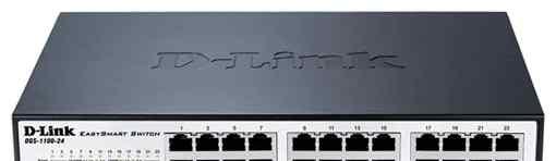 Гигабитный маршрутизатор D-link DGS-1100-24