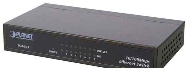 Коммутатор свитч switch Planet FSD-803 8 портов