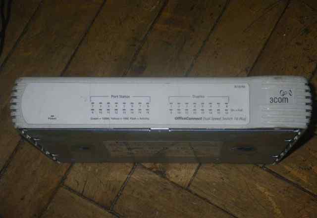 Коммутатор 3com OfficeConnect 16 Plus (3C16792)