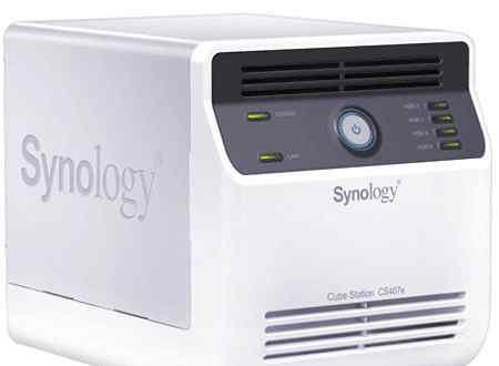 Сетевое хранилище synology cs407 с дисками
