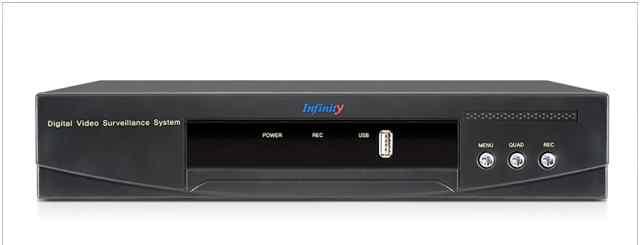 Видеорегистратор Infinity dvars-442MHL + 1TB WD