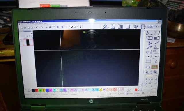 SDS ONE (A-52) на ноутбуке shima seiki