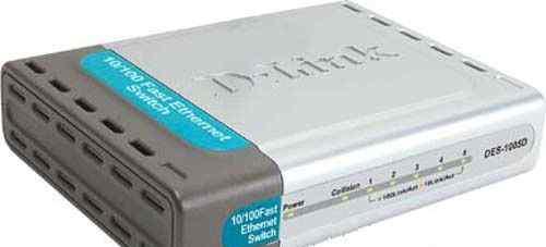 Коммутатор D-Link 1005D RJ-45 5 портов