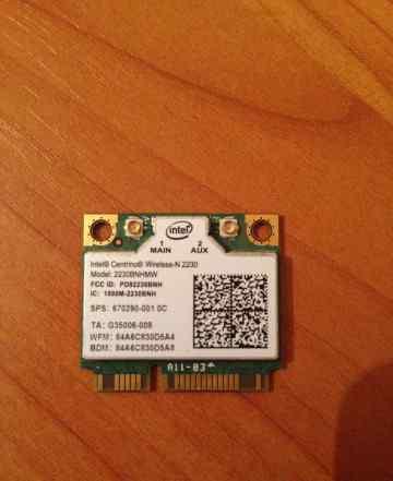 Сетевой адаптер WiFi + Bluetooth intel 2230bnhmw