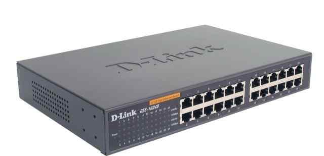 Коммутатор D-Link DES-1024D б. у