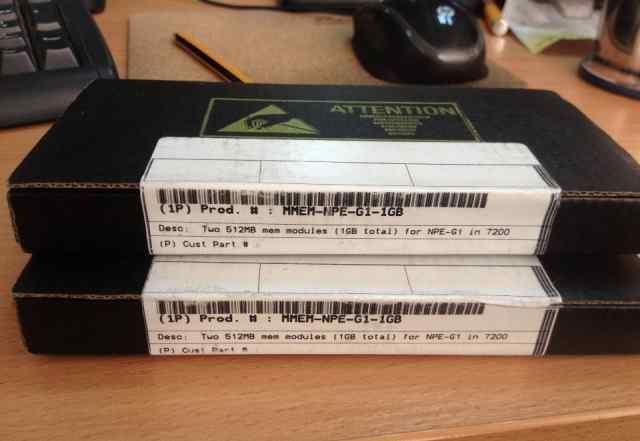Память sdram sodimm 1GB для Cisco 7200 NPE-G1 - RF