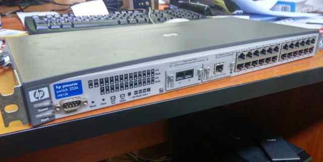 Управляемый коммутатор HP Procurve 2524 (J4813A )