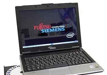 Ноутбук Fujitsu-Siemens amilo SI1520 б. у. серебр