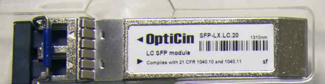 Модули opticin SFP-LX. LC.20