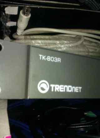 Trendnet tk-803r квм переключатель