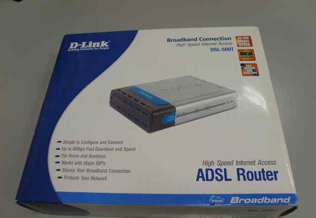 Adsl модем (роутер) D-Link 500T