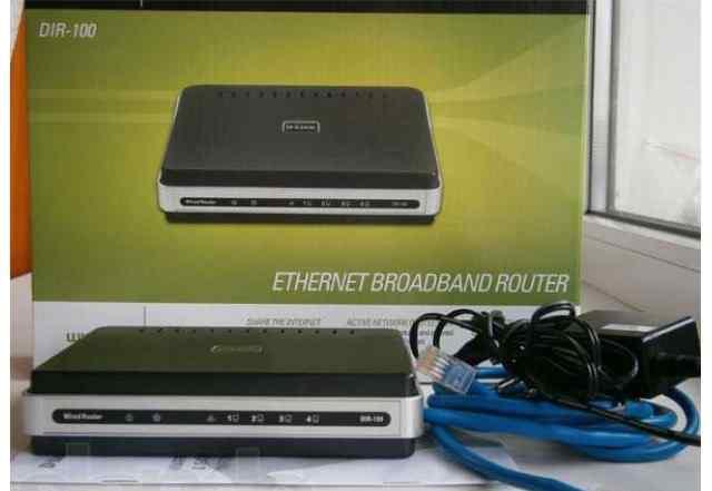 D-link DIR-100 Router